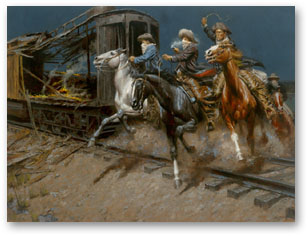 Sundance and the Wild Bunch Hit the Union Pacific