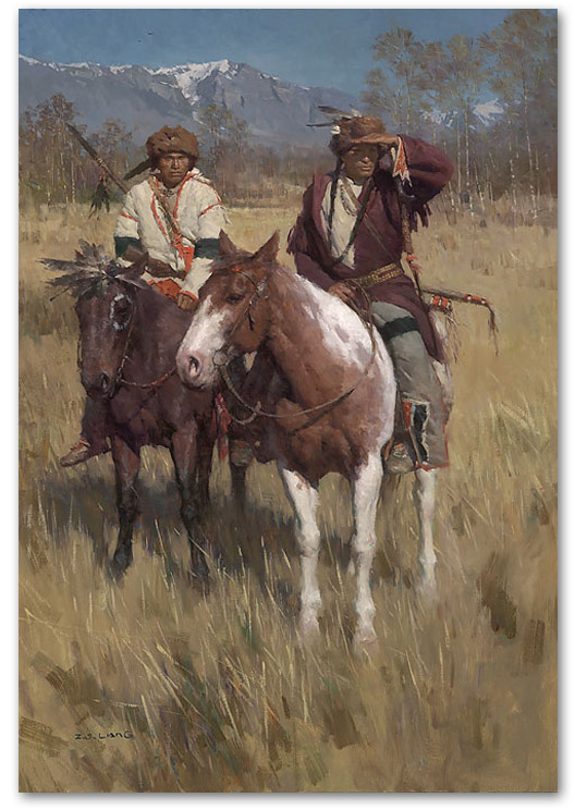 The Buffalo Scouts - by Z.S. Liang