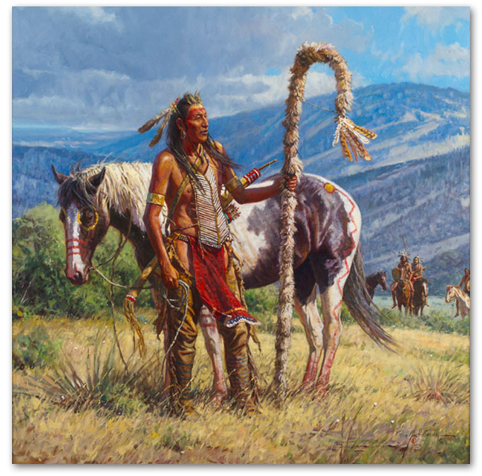 Second to the Pipe Carrier - by Martin Grelle