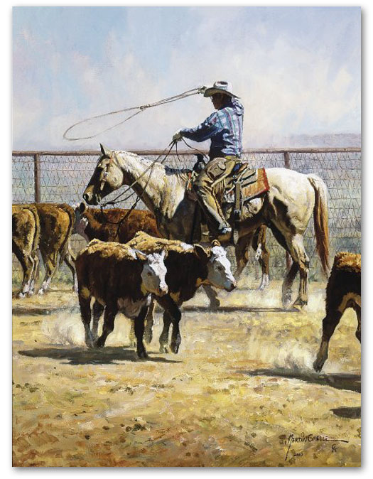 In the Texas Dust - by Martin Grelle
