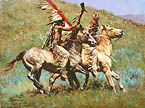 Tribal Warfare - by Howard Terpning