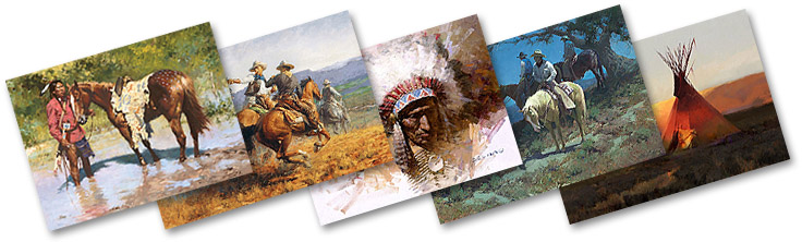 Western and Native American art